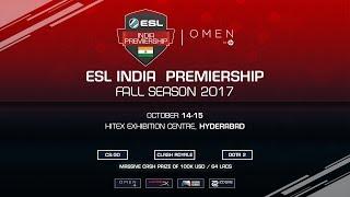 ESL India Premiership 2017 Fall Season Finale | Main Event | Grand Finals