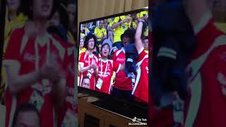 ワールドカップでカリスマブラザーズが映る決定的瞬間