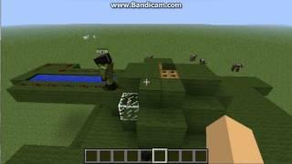 видео: танковый бой в minecraft