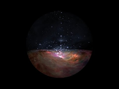 Flight Through the Orion Nebula in Visible Light – Dome Version