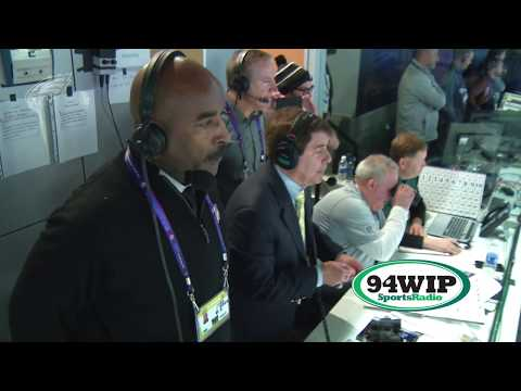 Merrill Cam: Philadelphia Eagles vs. New England Patriots