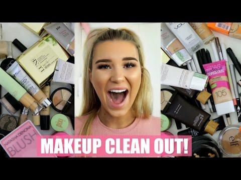 Decluttering My Makeup Collection | SHANI GRIMMOND
