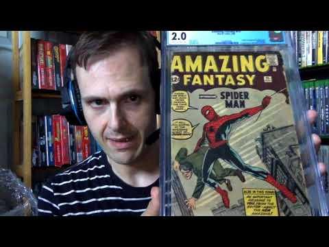 CGC Unboxing - Amazing Fantasy #15...Again!