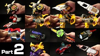春の動画祭り よ永遠に!スーパー戦隊シリーズ 追加戦士その他 変身アイテムズ 21世紀版 パート2 Super Sentai Additional fighter Makeover Items 2 thumbnail