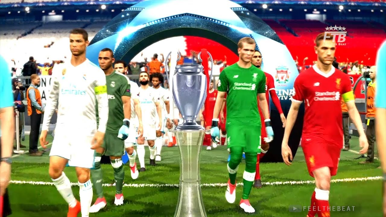 Real Madrid Vs Liverpool Uefa Champions League Final Pes 2018
