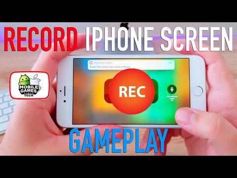 how to record games on iphone