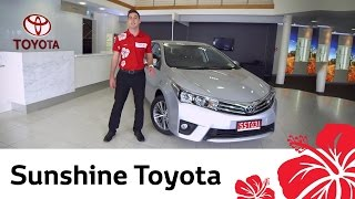 2014 Toyota Corolla Sedan - Video review by Sunshine Toyota