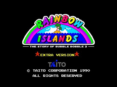 Mega Drive Longplay [239] Rainbow Islands Extra