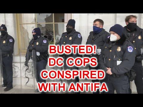 BUSTED!!! Video Shows Capitol Police Conspiring With Antifa To Storm The Capitol And Blame Trump