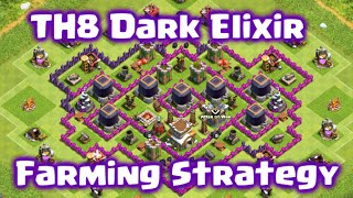 Clash of Clans - TH8 Attack Strategy for Fast and Massive Dark Elixir!