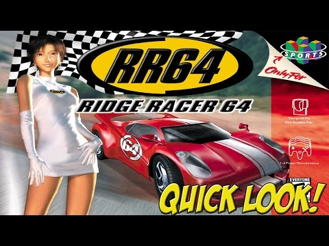 N64: Ridge Racer 64 & Top Gear Overdrive! Quick Look - YoVideogames