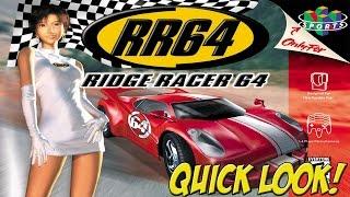 N64: Ridge Racer 64 & Top Gear Overdrive! Quick Look - YoVideogames