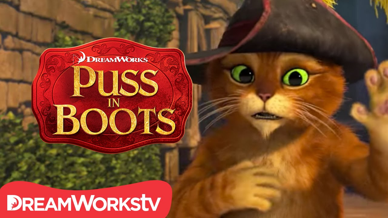 dec176bfd0c70 Cat Gets The Hiccups | NEW PUSS IN BOOTS - YouTube