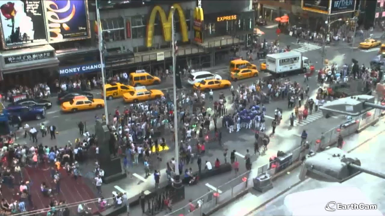 Times Square Today Car Accident