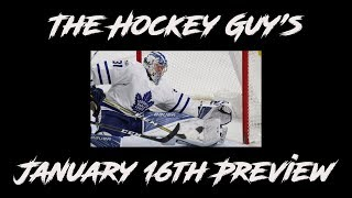 Previewing January 16th Games