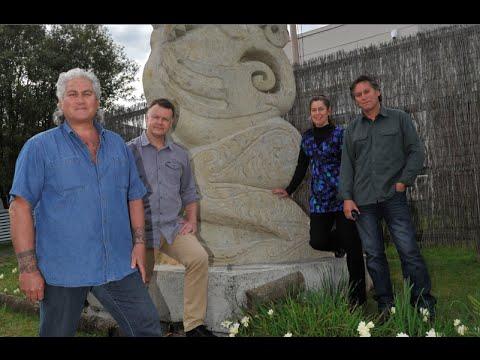 Sculpture of Tangaroa - Gisborne New Zealand