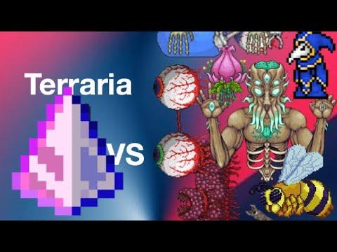 Terraria 1.3.0.7.7 Last Prism Vs All Bosses Normal Mode