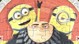 Minions Jigsaw Puzzle Game For Kids Felonious Gru пазлы миньоны ミニオン パズル 小小兵 拼图 rompecabezas minions