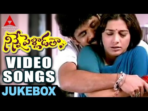 Ninnepelladatha Video songs Jukebox -  Ninnepelladatha Movie - Nagarjuna,Tabu