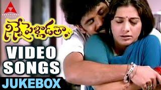 Ninnepelladatha Video songs Jukebox -  Ninnepelladatha Movie - Nagarjuna,Tabu
