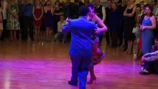 Carlos Rodriguez y Brigita Urbietyte,TangoPonte Festival, Saratov 2014, Improvisando Tango 2.