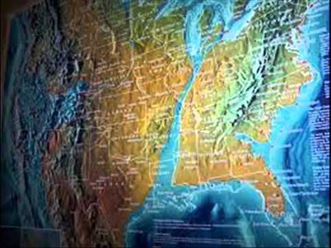 September Th Possible FUTURE MAP OF THE UNITED STATES AND WORLD - Future map of us