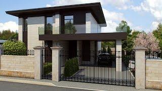Проект дома с панорамными окнами(, 2015-12-08T13:50:45.000Z)