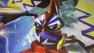 OPENING A POKEMON GUARDIANS RISING COLLECTORS ALBUM
