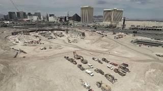 Las Vegas Raiders Stadium Construction Site