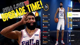 NBA LIVE 18 THE ONE STRETCH BIG | UPGRADE TIME! 3 POINT ASSASSIN!