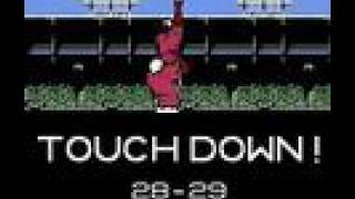 NES Tecmo Super Bowl - Colts v. Patriots crazy game (2 of 2)