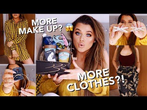 I'VE GOT TO STOP SHOPPING!! MEGA CLOTHING & MAKE UP HAUL! | Rachel Leary