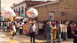 Guelaguetza 2014: Calenda de Mercados