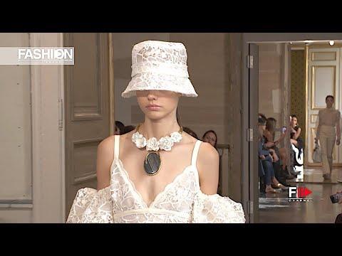 GIAMBATTISTA VALLI Spring 2020 Paris – Fashion Channel