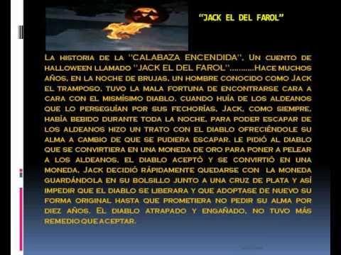 HALLOWEEN Y LA HISTORIA DE LA CALABAZA ILUMINADA - YouTube