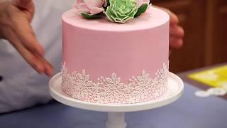 How to Make Cake Lace | Sneak Peak | Global Sugar Art