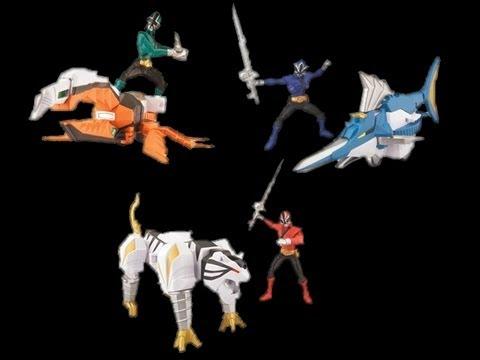 Saban's Power Rangers Samurai: Beetle and Swordfish Zord ...
