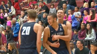 San Diego's Tyler Williams Hits Game-Winner at the Buzzer in Double-Overtime | CampusInsiders