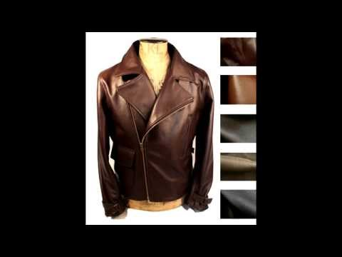 """""""The First Avenger: Captain America"""" STYLE jacket in Rosetta Hide by Wested Leather Co"""