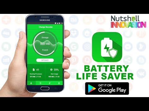 Battery Saver Android App - Increase Battery Life | Battery Life Saver - Battery Charger & Extender