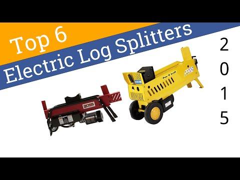 6 Best Electric Log Splitters 2015