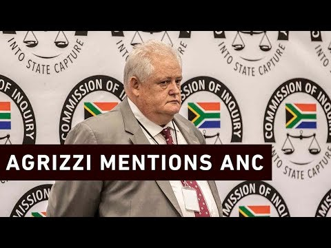 #StateCaptureInquiry: Agrizzi mentions the ANC for the first time