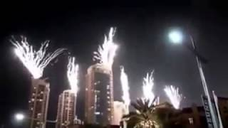 Dubai burj khalifa Happy New Year 2017