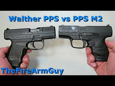 Walther PPS & PPS M2 - Are They Different? - TheFireArmGuy