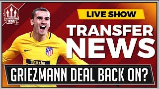 GRIEZMANN, FRED, PULISIC | Manchester United Transfer News