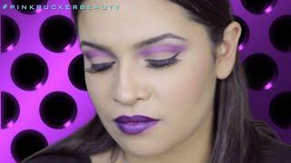 HOT! Purple Eyeshadow Tutorial - Urban Decay Electric Pallet - Purple Passion Thumbnail
