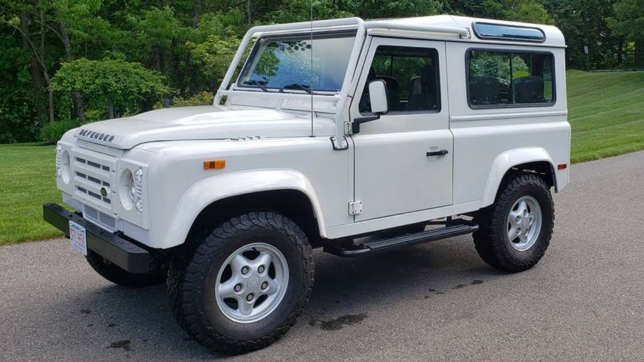 Cool Cars On Cape Cod S Craigslist 1997 Nas Land Rover Defender More Youtube