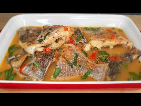 Tasty Tilapia Fish Pepper 🔥 Soup Recipe| Delicious!