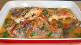 Tasty Tilapia Fish Pepper  Soup Recipe Delicious!
