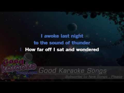 Night Moves -  Bob Seger (Lyrics Karaoke) [ goodkaraokesongs.com ]